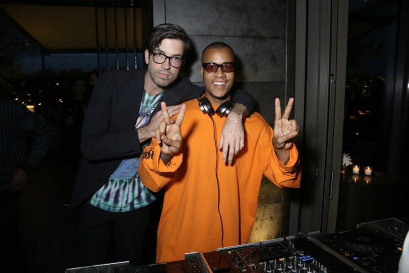 Will Welch (left) and Heron Preston.