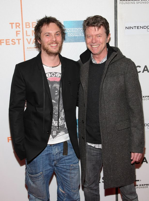 Duncan Jones with his father Bowie (Photo: Getty Images North America)