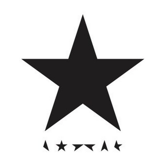 The cover of Bowie's Blackstar album