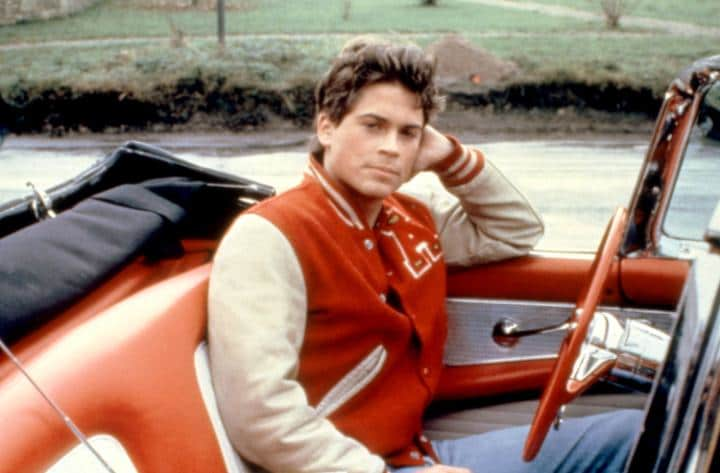 Rob Lowe, 1984 CREDIT: EVERETT COLLECTION INC / ALAMY STOCK PHOTO