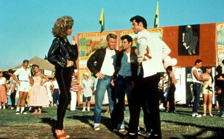 John Travolta in Grease, 1978 CREDIT: COLLECTION CHRISTOPHEL / ALAMY STOCK PHOTO